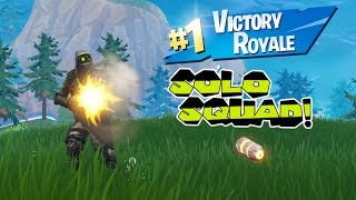 Solo-Squad Victory With The *NEW* ARCHTYPE Skin! - Fortnite