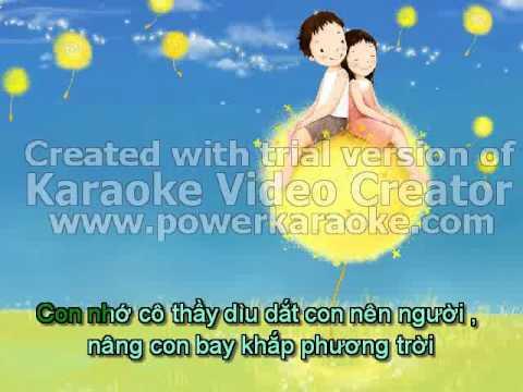 (Karaoke) Nho On Thay Co.flv