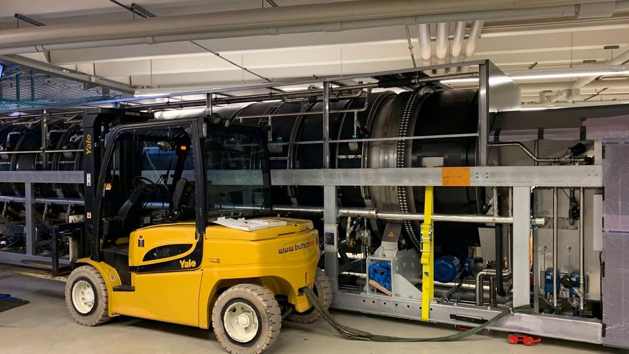 Youtube Video: Einbau der neuen Waschstraße PowerTrans PT60-17