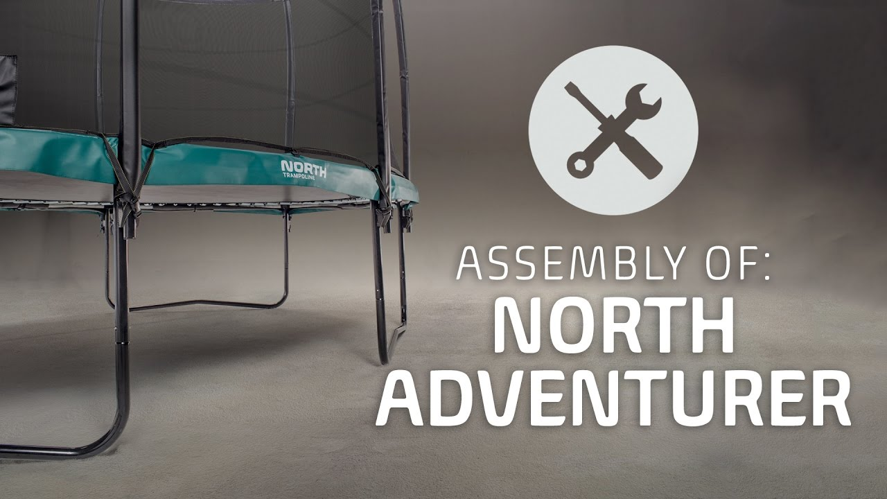 Trampolin 3 5 Meter North Trampoline Adventurer Assembly Video Official