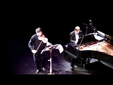 Jonathan Lee plays Violin Sonata in G minor by Debussy