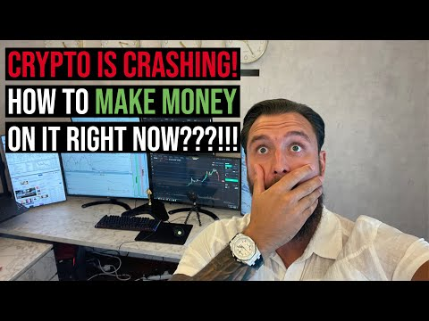Crypto is crashing! How to make money on it RIGHT NOW???!!!