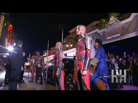 Wakanda Takes Over Hollywood At 'Black Panther' Premiere