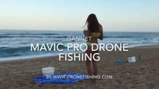 Mavic Pro drone fishing