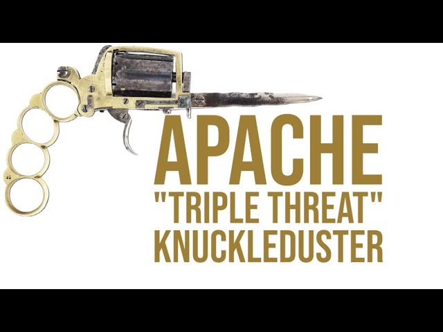 Apache Triple Threat Knuckleduster