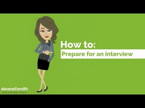 How To Prepare For Your Property Job Interview   Deverell Smith