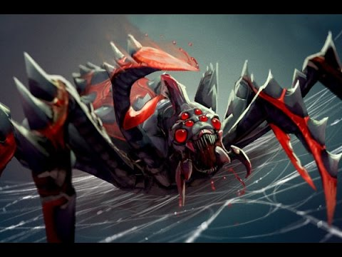 видео: broodmother, dota 2 гайд