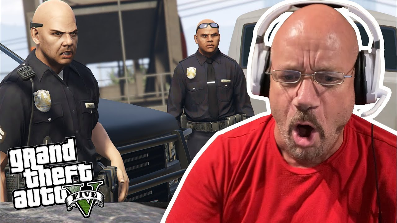 Former Jewel Thief Outruns the Cops in GTA 5 | Prison Break - Part 2 | GTA V