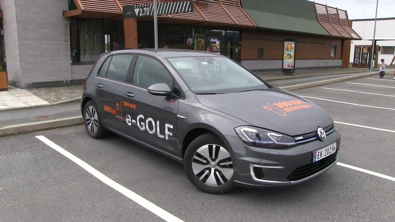 Vw E Golf 35 8 Kwh Test Drive Youtube