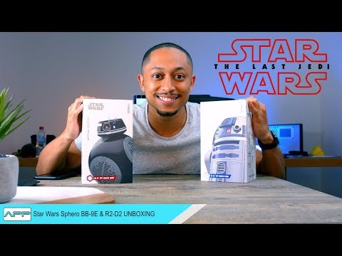 Star Wars Sphero BB-9E and R2-D2