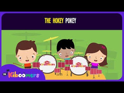 Hokey Pokey Song for Kids | Best Dance Songs for Children | The Kiboomers