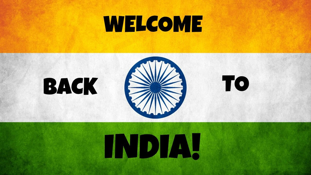 how to write welcome in hindi