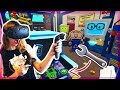 POTATO POWERED CARS! VR JOB SIMULATOR   Kunicorn Plays VR Games