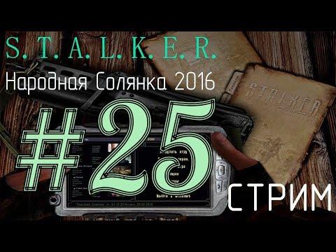 S.T.A.L.K.E.R. Народная Солянка 2016 23.02.18 [25] - {МАХ Сложность - Уровень мастер}.