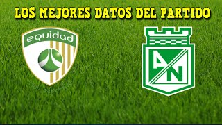 ATLETICO NACIONAL vs LA EQUIDAD (2-2) Resumen y Goles HOY - Liga Betplay 2021