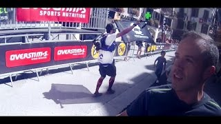 TDS Finish Line . Ultra-Trail du Mont Blanc ( Trail Running )