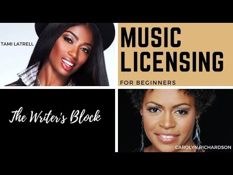 Tami LaTrell - Music Licensing For Beginners  With Carolyn Richardson