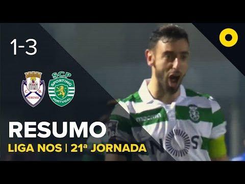 Feirense 1-3 Sporting - Resumo | SPORT TV
