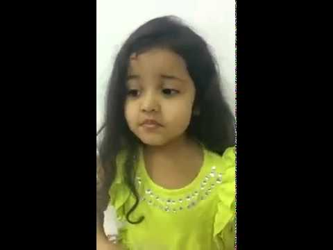 Cute & Intelligent little girl from India. She is