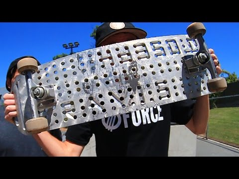 METAL SKATEBOARD | YOU MAKE IT WE SKATE IT EP 1