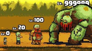 GROWING a MAX LEVEL ZOMBIE BOSS in Dead Ahead: Zombie Warfare