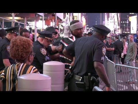 Israelites VS Israelis.1 Arrest, 2 Injured In Times Square BRAWL