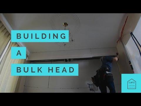 Building a Bulk Head with steel studs