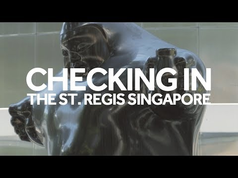 Destinasian - Checking in at The St. Regis Singapore
