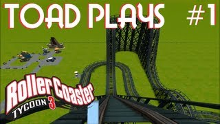 Roller Coaster Tycoon 3 - Part 1 - Starting the Park!