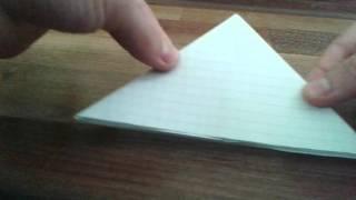 Как сделать мячик из бумаги.