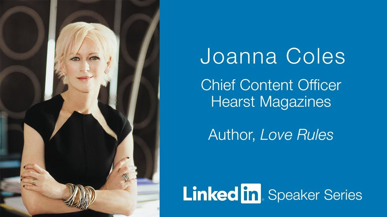 LinkedIn Speaker Series: Joanna Coles