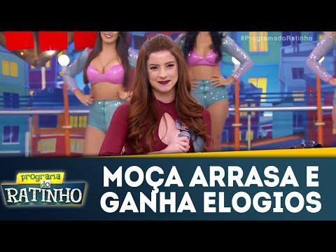 Moça Arrasa E Muito Elogiada Por Ratinho | Programa Do Ratinho (28/05/18)