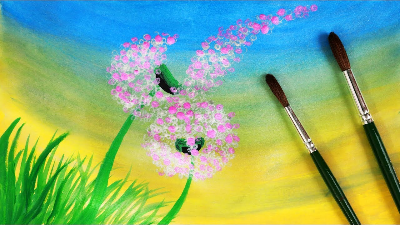 Easy Paintings Of Nature On Canvas
