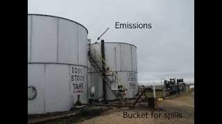 FLIR Video: Ballard Oil Inc facility in Arvin California