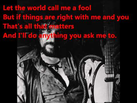 Waylon Jennings - You Ask Me To