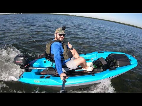 Pelican Catch PWR 100 POWER 100 With 2.5 HP OUTBOARD SUZUKI 2.5 HP