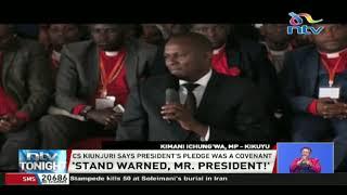 You must back DP Ruto in 2022, allies tell President Uhuru Kenyatta