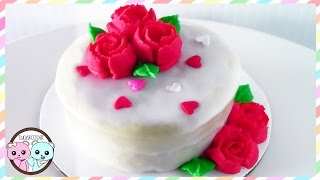 RUSSIAN PIPING TIPS: ROSE CAKE, VALENTINE