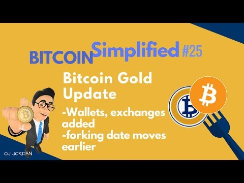 Bitcoin Gold Hard Fork - What to do? : BITCOIN SIMPLIFIED #25