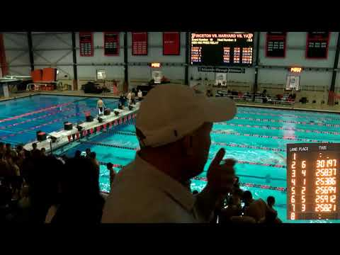 Swimming And Diving: Harvard-Yale-Princeton