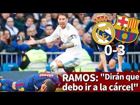 """Ramos: """"En Barcelona dirán que debo ir a la cárcel con Puigdemont"""" - Diario AS - 동영상"""