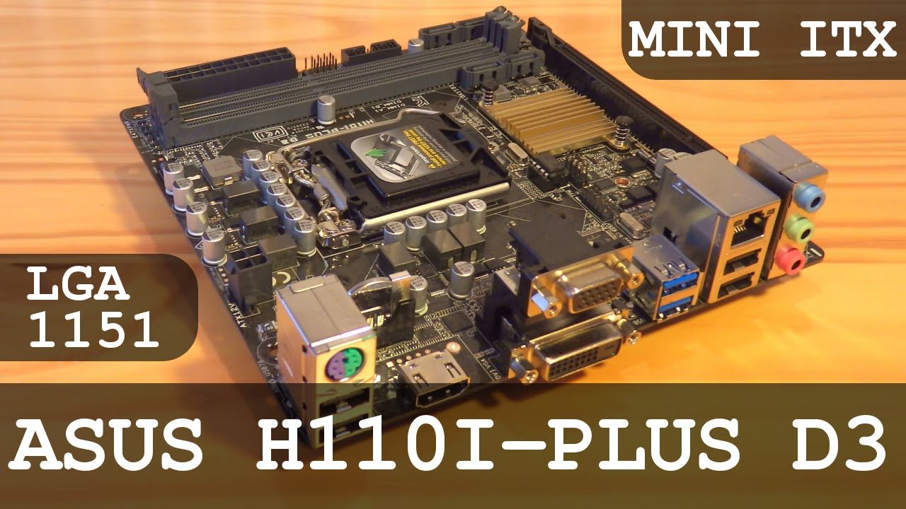 DRIVER FOR ASUS H170I-PLUS D3 MOTHERBOARD