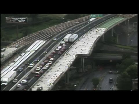 All lanes open on I-91 following northbound crash in Springfield