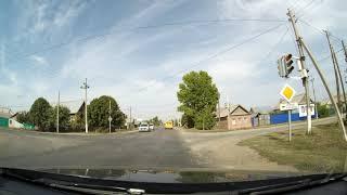 Поездка по улицам г. Пугачев Саратовская область 8 сентября 2020 г.