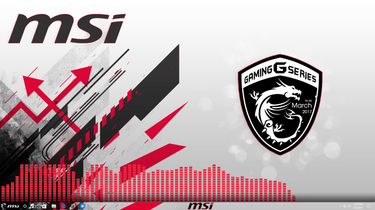 Msi Video Wallpaper For Your Pc Mk2 By Akiba Illusion Youtube