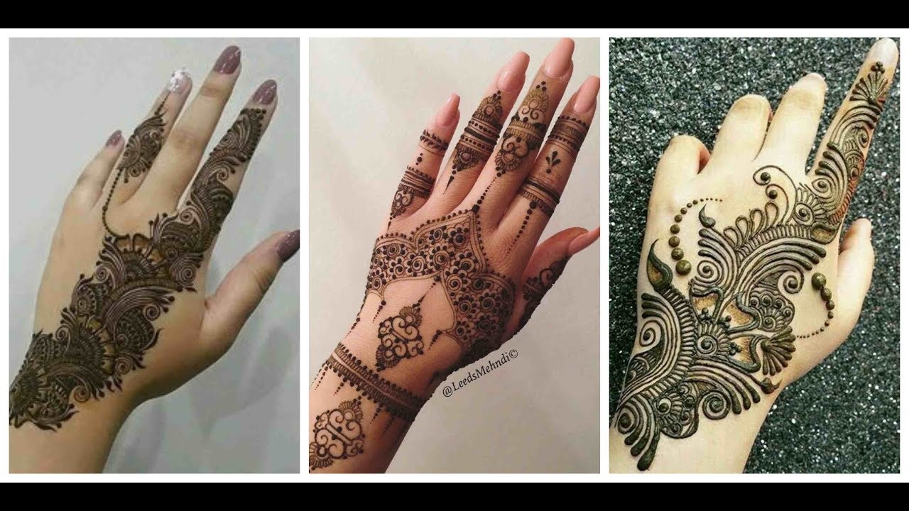 Latest Arabic Mehndi Design 2019 2020 New Bridal Arabic Mehndi Design Youtube