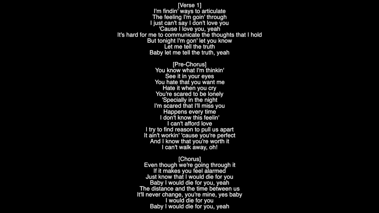Tell me why you cry lyrics
