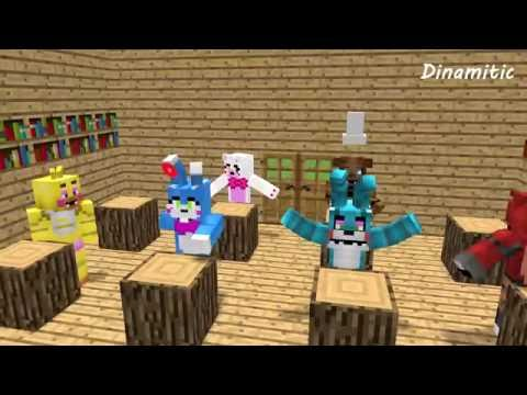 FNAF Monster School: Girls vs Boys Baking Challenge - Minecraft Animation