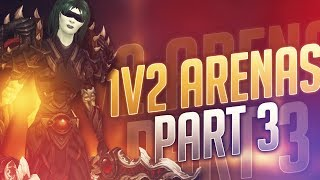 Sensus | WoW Legion Rogue PvP | 1v2 ARENAS! [Part 3] (Legion Subtlety Rogue PvP) Patch 7.2