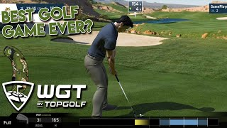 WGT Golf by TopGolf First Impressions [H2H Match and Single Player] screenshot 4